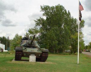 American Legion Tank